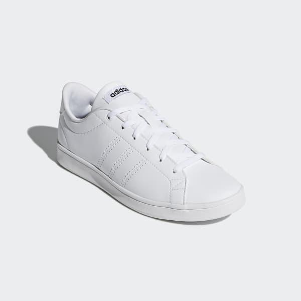adidas advantage clean blanc noir