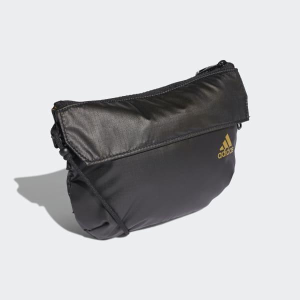águila Sangriento Desgastar  adidas Bolsa tipo Cangurera Crossbody - Negro | adidas Mexico