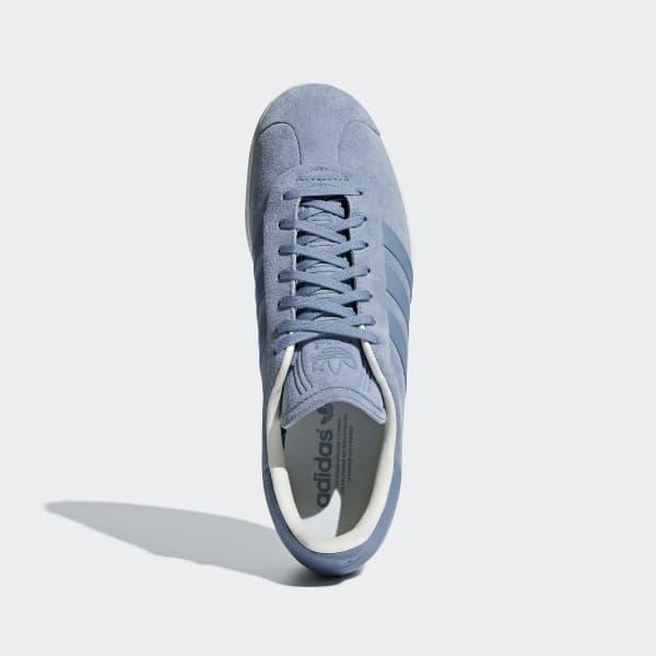 the latest dd842 337c1 adidas Gazelle Stitch-and-Turn Shoes - Blue  adidas UK