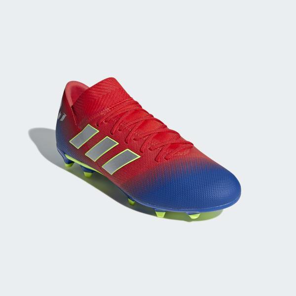 Kakadu código postal Tóxico  Zapatos de Fútbol Nemeziz Messi 18.3 Terreno Firme - Rojo adidas | adidas  Chile
