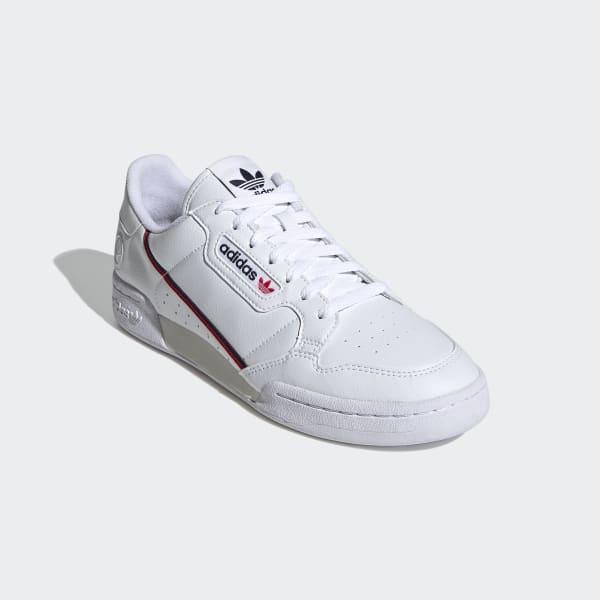 desesperación Desviarse Terminología  adidas Continental 80 Vegan Shoes - White | adidas US