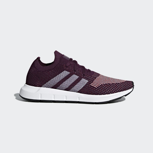 adidas Swift Run Primeknit Shoes - Red | adidas US | Tuggl
