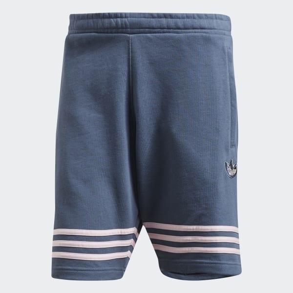adidas Outline Shorts Blau | adidas Austria