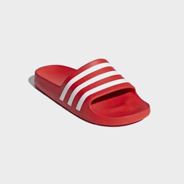 b2a2f939cb5 adidas Sandale Adilette Aqua - rouge