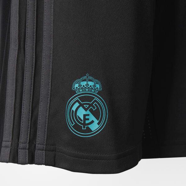 adidas Shorts para entrenar REAL Madrid Junior 2017 2018 - Negro ... de52c4f5deef6