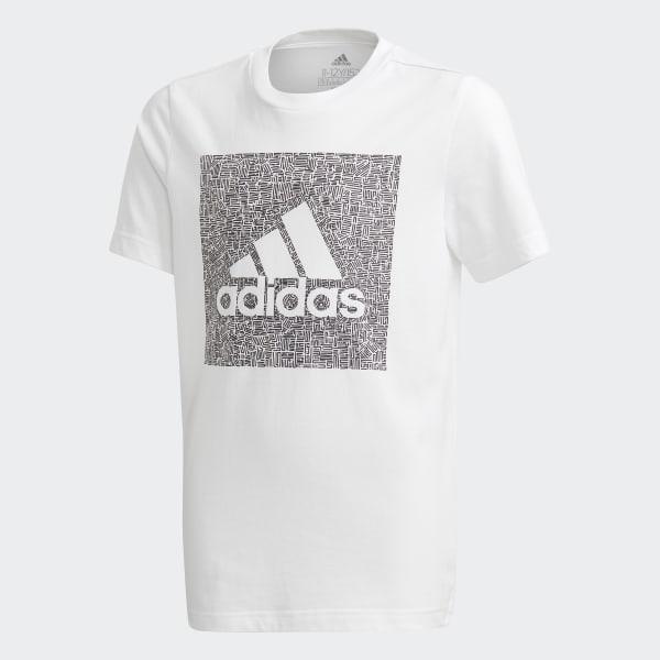 adidas Must Haves Badge of Sport t skjorte Hvit | adidas
