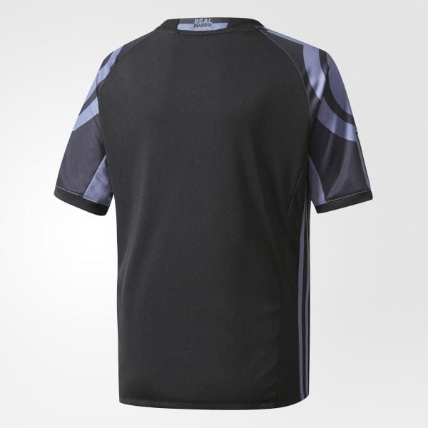 adidas Camiseta Tercer Uniforme Real Madrid - Negro  6518fce6c46ca