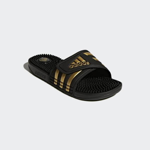 88cc2d1319e36 adidas Adissage Slides - Black