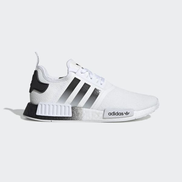 Men S Nmd R1 White And Black Shoes Adidas Us