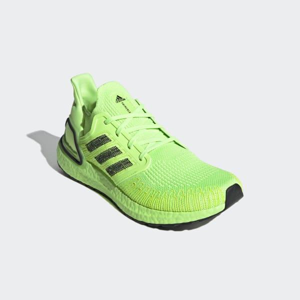 adidas boost uomo verdi