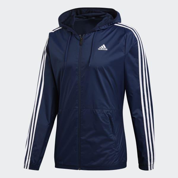 blue adidas jacket