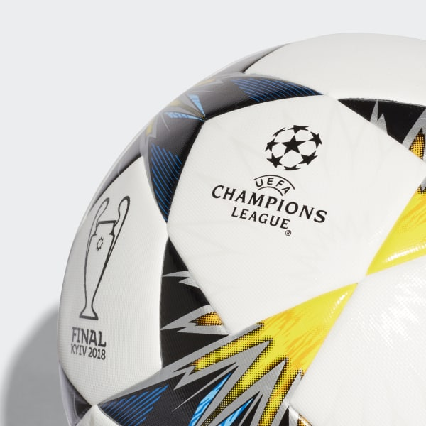 adidas UCL Finale Kiev Training Ball - White  7f3dc0e231e1e