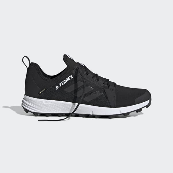 Quinto once Guiño  adidas Terrex Speed GORE-TEX Trail Running Shoes - Black | adidas UK
