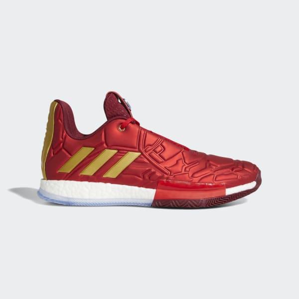 9fabdafa056 adidas Harden Vol. 3 Shoes - Red