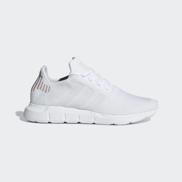 Women's Swift Run All White Shoes