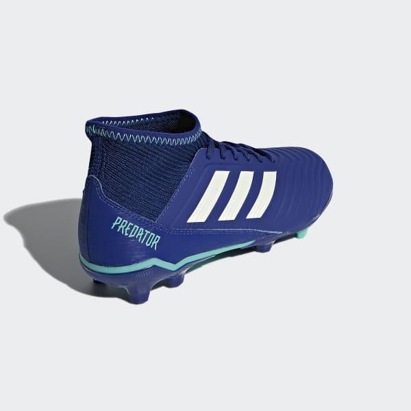 adidas Guayos Predator 18.3 Terreno Firme - Azul  11f2dc6efc8cd
