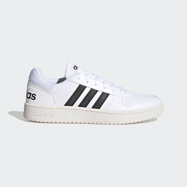 adidas Hoops 2.0 Shoes - White | adidas US