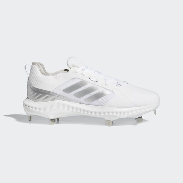 adidas PureHustle Cleats - White