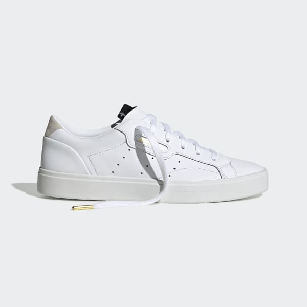 medida Rugido tenga en cuenta  adidas Sleek Shoes - White | adidas US