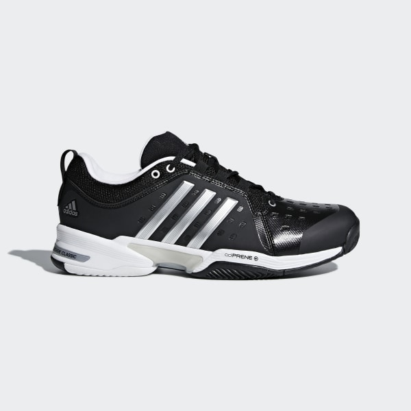 63847e0aad4 Barricade Classic Wide 4E Shoes Core Black   Silver Metallic   Cloud White  CP8694