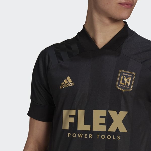 adidas Los Angeles FC 20/21 Home Authentic Jersey - White   H37022 ...