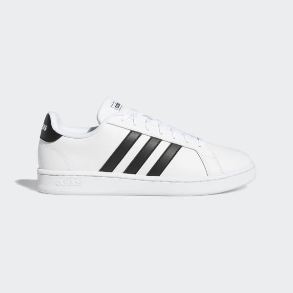 Adidas Grand Court Schuh Sneaker Herren Cloud White Trace