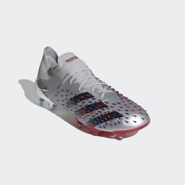adidas Predator Freak.1 Firm Ground Cleats - Silver | adidas US