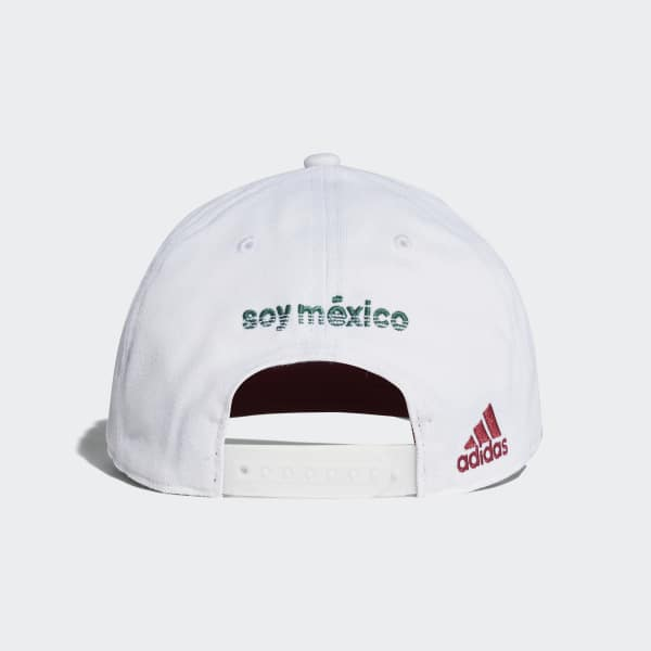 b245d18fe275 adidas Gorra Mexico Flat-Brim 2018 - Blanco | adidas Mexico