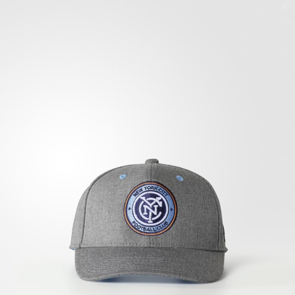 Adidas New York City FC Structured Hat BM8568 Grey TopDeals