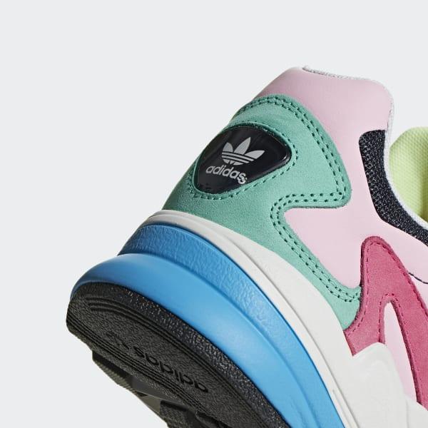 alto Equipo puño  adidas Falcon Shoes - Blue | adidas US