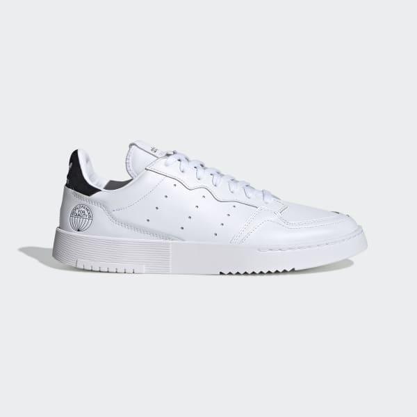 adidas super court homme blanche