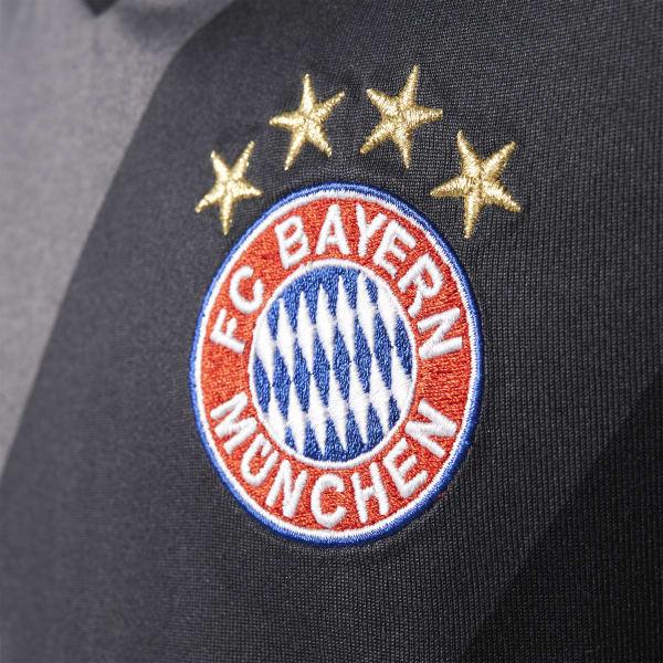 bf021549be2de adidas Jersey de visitante FC Bayern 2016 - Gris