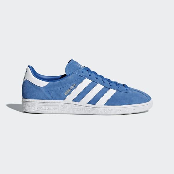 adidas München Shoes - Blue  9413bbddcc