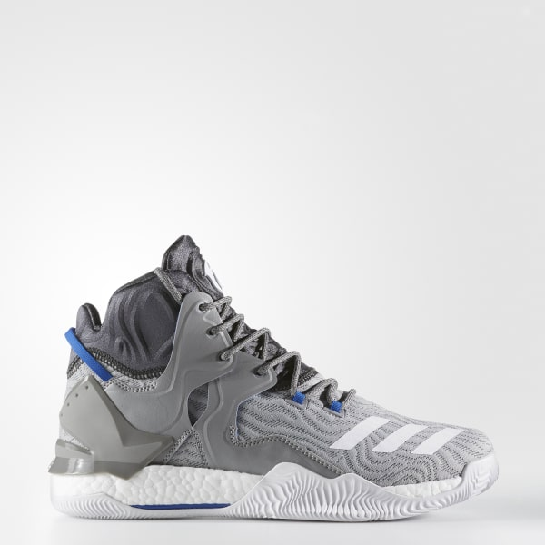 adidas Men's D Rose 7 Shoes - Grey