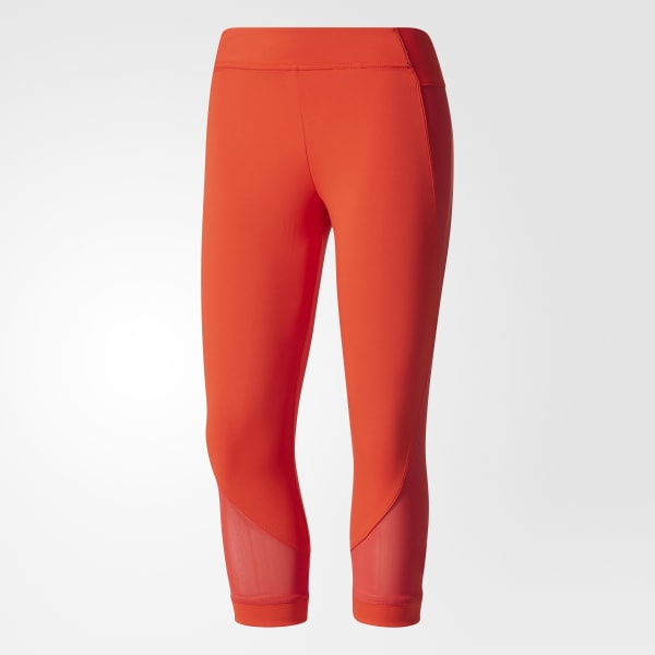 b288d27a70e45 adidas Mallas deportivas Training Climacool 3 4 - Rojo