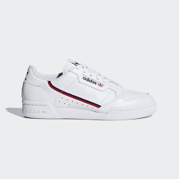 adidas Continental 80 Shoes - White  5caf0be21