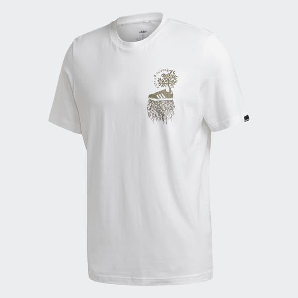 adidas Rooted In Sport T Shirt Weiß | adidas Austria