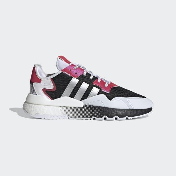 adidas Nite Jogger Shoes - Black