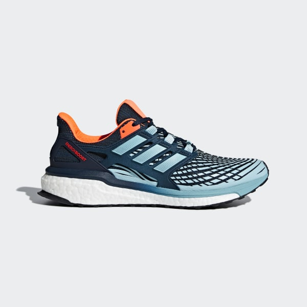 adidas Energy Boost Shoes - Blue | adidas US | Tuggl