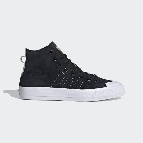 adidas Nizza Hi RF Shoes - Black