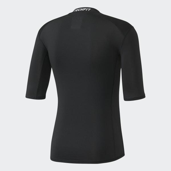 Camiseta Techfit Base - Preto adidas  5b3e85dd3666b