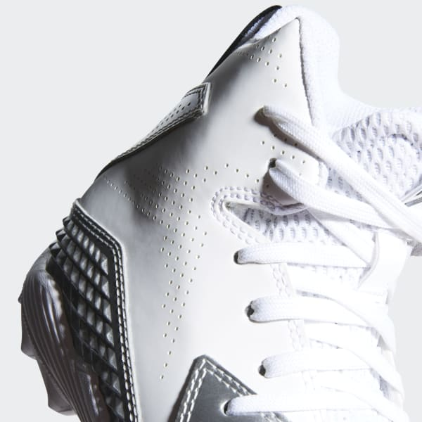 meet 48de4 2b58d adidas Freak Mid Molded Von Cleats - White  adidas US