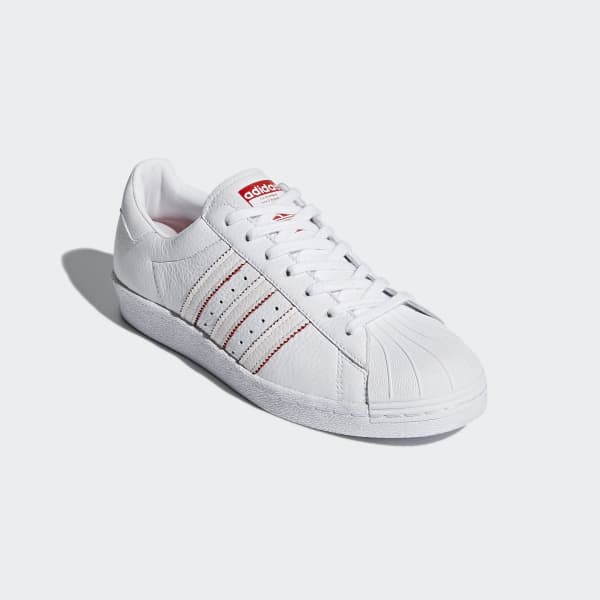 buy popular 2bcb1 e3065 adidas Superstar 80s CNY Shoes - White | adidas Malaysia
