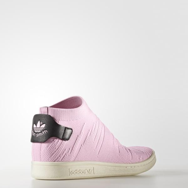 882048f23da adidas Sapatos Stan Smith Shock Primeknit - Rosa
