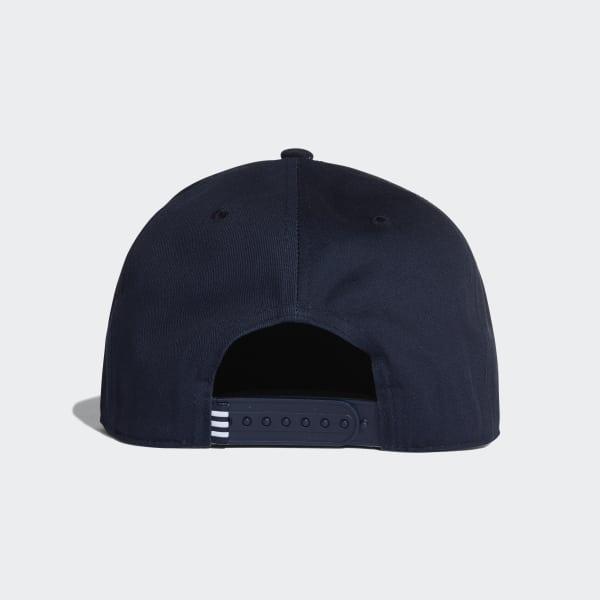 adidas Gorra Trifolio Snap-Back - Azul  1ea5a1cd25e