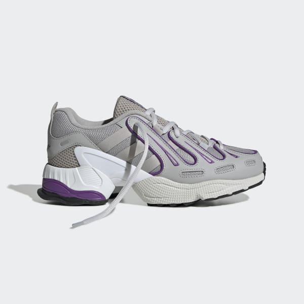 Women's EQT Gazelle Grey and Purple