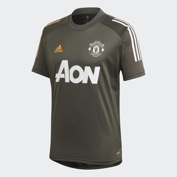 Adidas Manchester United Training Jersey Green Adidas Us