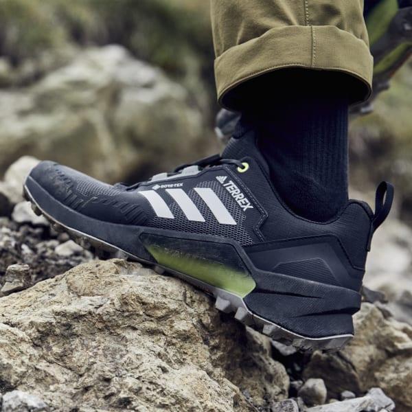 adidas Terrex Swift R3 GORE-TEX Hiking Shoes - Black   adidas US
