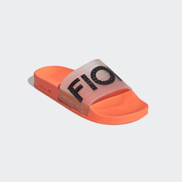 b137e19341e adidas Fiorucci Adilette Badslippers - oranje | adidas Officiële Shop