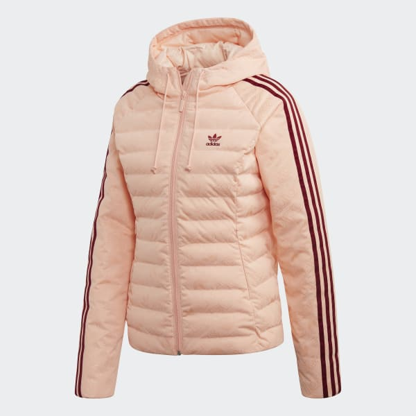adidas Monogram Slim jakke Pink | adidas Denmark